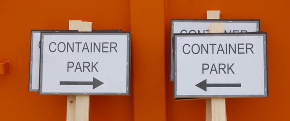 Containerparken van Asse en Zellik openen op afspraak