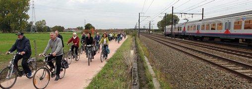 BREAKING: Nieuwe fietstunnel en aanleg 1,6 km nieuwe fietssnelweg in Asse
