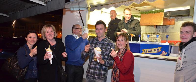 Geen Pajotse Slimste Gemeente, wel frietfeestje in Lennik (+ foto's & video's)