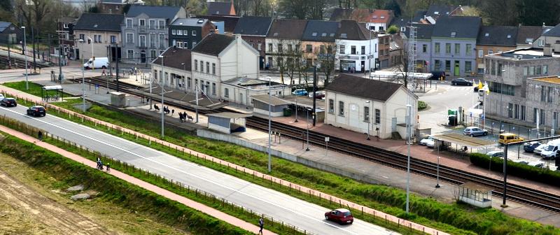 Ontmanteling fietsenstalling station Asse