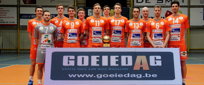 Volleybalclub Lindemans Aalst ambitieus voor start nieuwe seizoen.