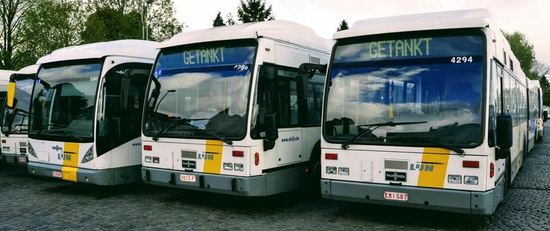 Bussen 213 en 214 van De Lijn beperkt tot Simonis tussen 2 en 31 augustus