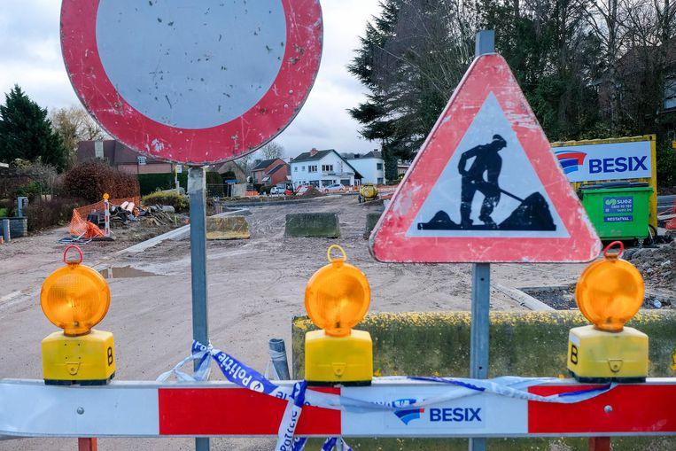 Brusselsesteenweg dit weekend volledig afgesloten.