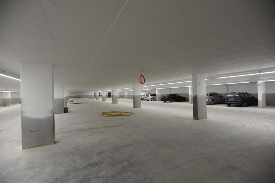 Parking Huinegem gesloten voor schilderwerken en extra beveiliging