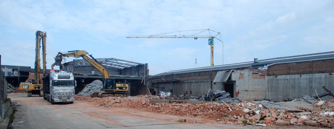 108 jaar oude fabriek verdwijnt definitief