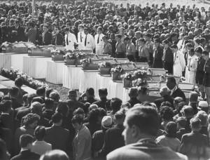 ongeval Walfergem 1966 - begrafenis