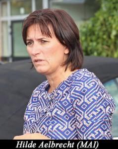OPWIJK: Lieven Boeve in gesprek met Hilde Aelbrecht van de Mai-Buso-school.