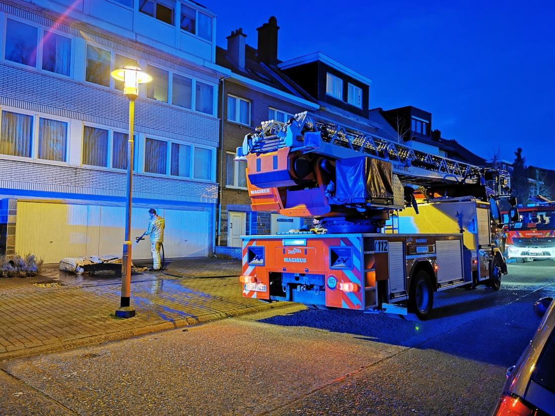 Brand Grotewinkellaan Strombeek-Bever