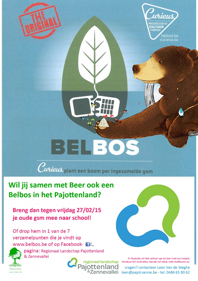 Inzamelactie GSM's Belbos Pajottenland