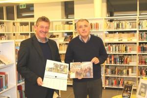 OCMW-voorzitter Faes en Burgemeester Parys stellen kalender 2016 voor