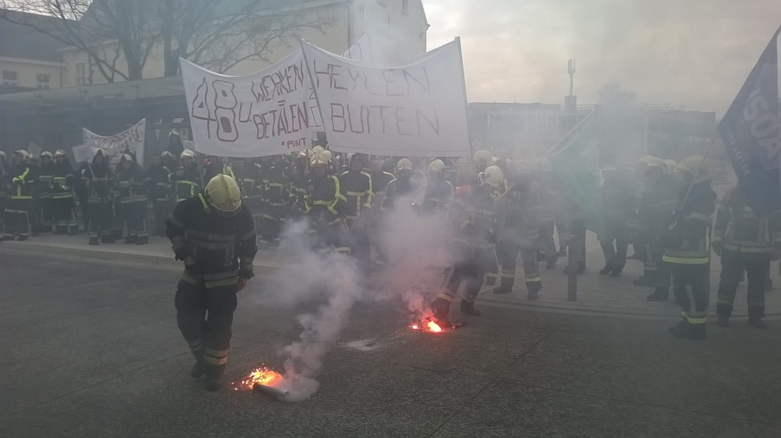 brandweerprotest vilvoorde 1