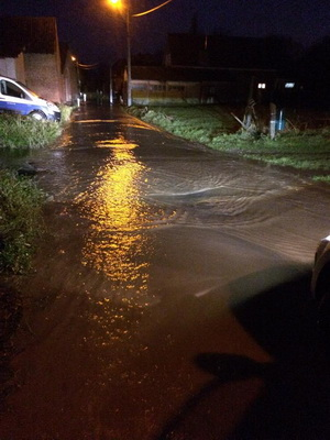neerkamstraat wateroverlast Mollem