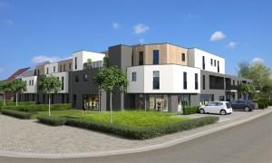 residentie blakmeers plan 3D
