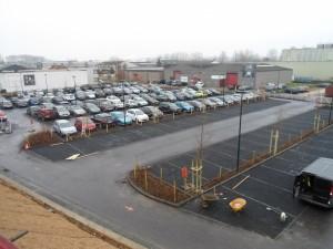 station Liedekerke parking Begijnenmeers