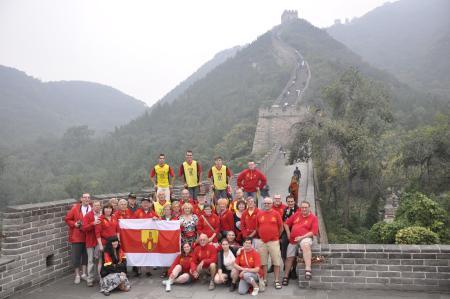 steltenlopers chinese muur