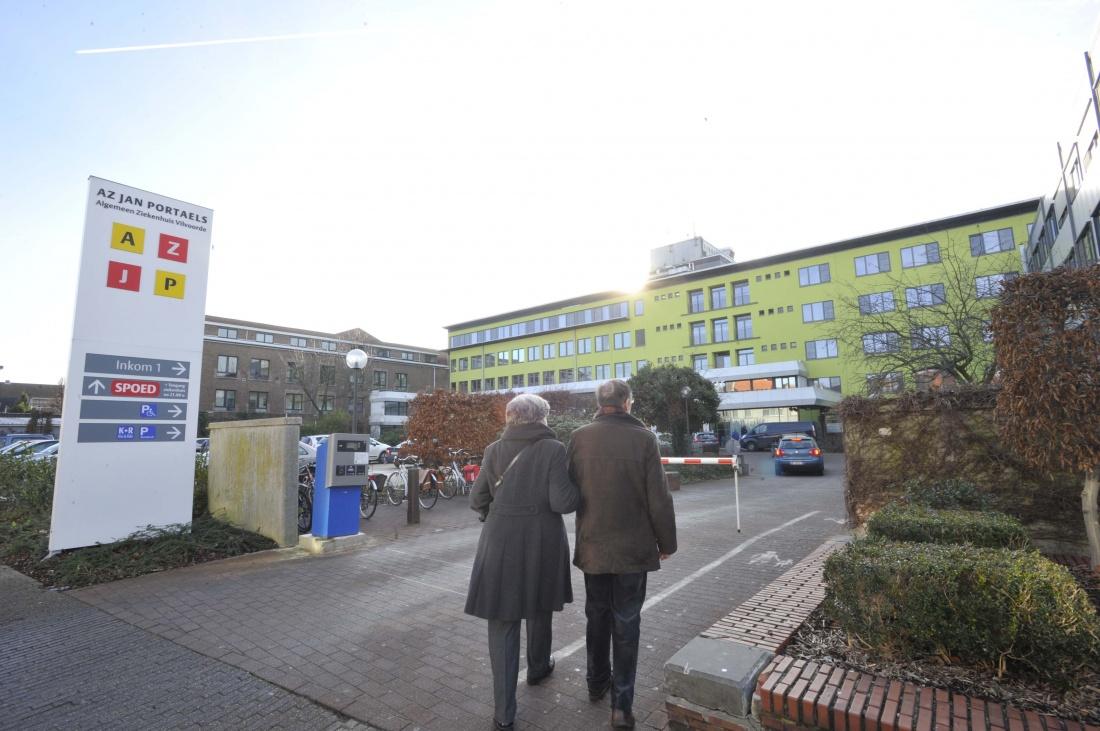 Al 29 Covid-patiënten opgenomen: geen bezoek meer in AZ Jan Portaels