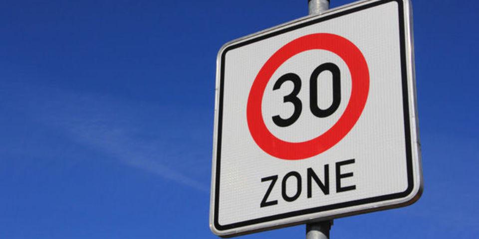 Zone 30 in centrum van Opwijk