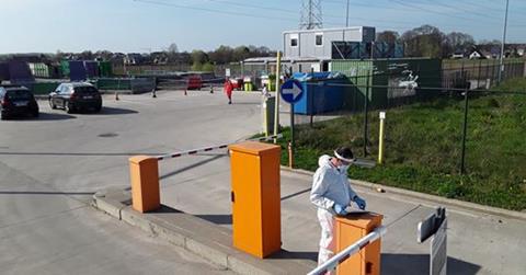 Recyclagepark Merchtem: enkel nog na reservatie