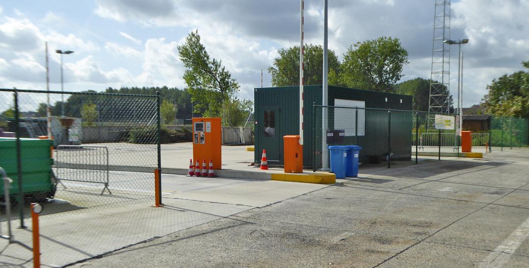Recyclagerpark Opwijk: enkel nog na reservatie