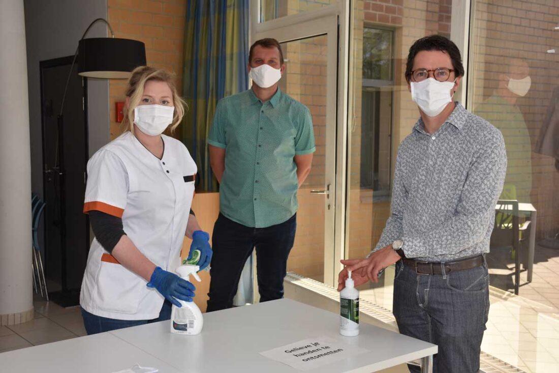 Maatregelen na 3 covid besmettingen in De Oase