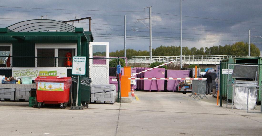 Vernieuwd afsprakensysteem in recyclagepark Ternat