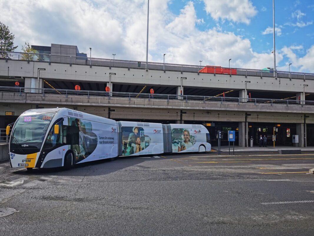 Ringtrambus officieel ingereden: om het half uur verbinding tussen Brussels Airport en UZ Jette