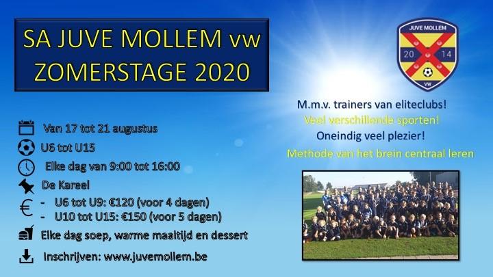 Soccer Academy Juvé Mollem - Zomerstage