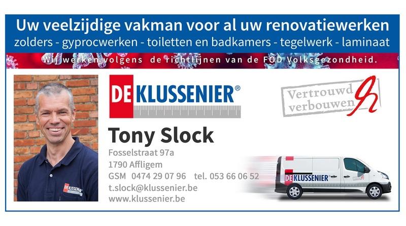 De Klussenier Tony Slock