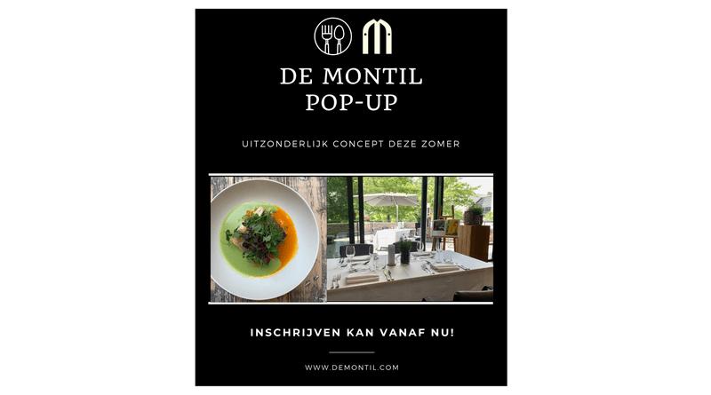 De Montil pop-up