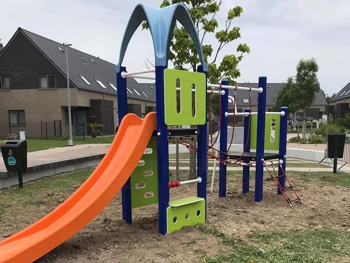 Kinderen mogen nieuw speelplein aan Vijfhoekstraat uittekenen