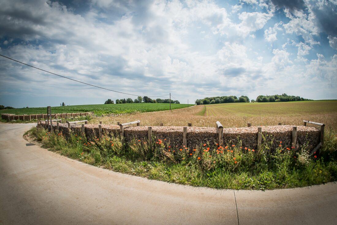 Erosiebestrijdingswerken in Asse afgerond