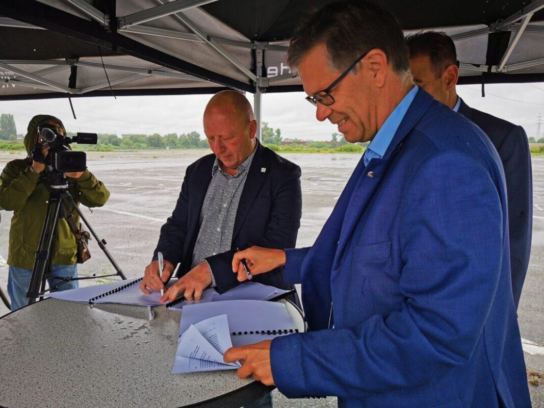 """Historisch akkoord over oude Renault-site: """"Dit wordt een nieuwe stedelijke toplocatie"""""""