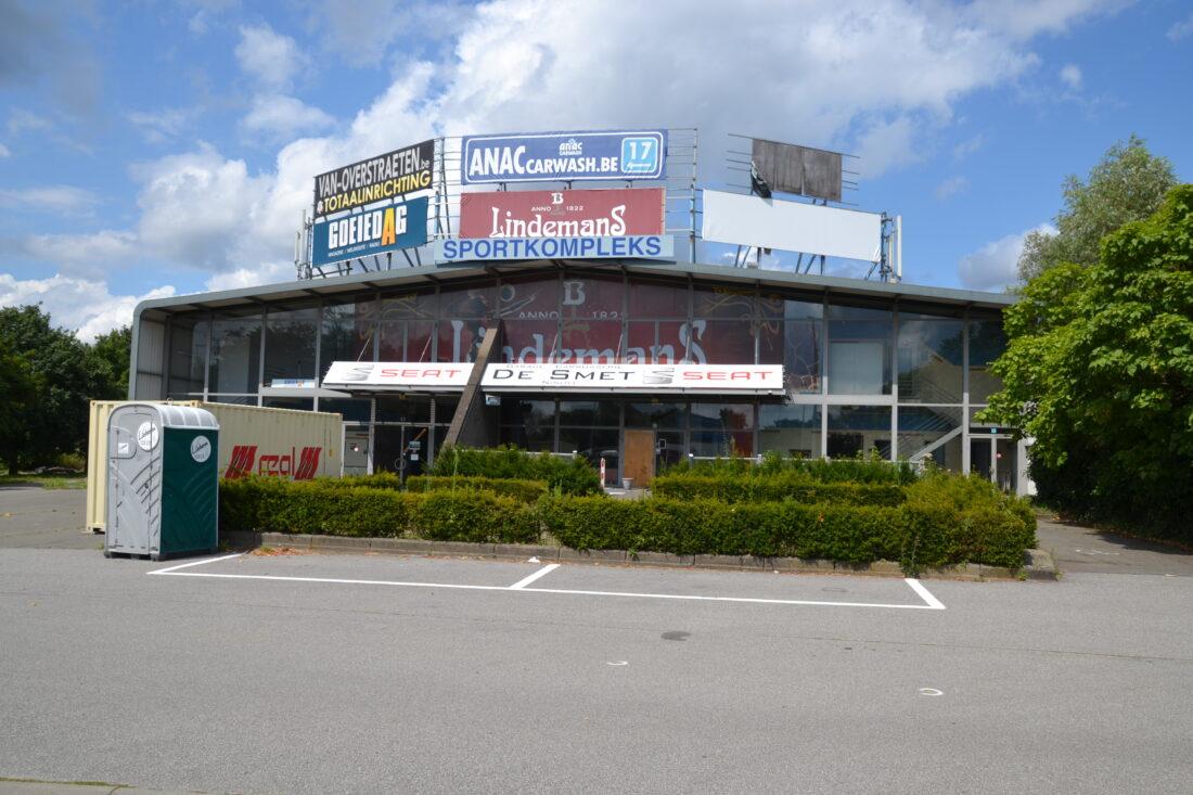 Molenbos sportcomplex wordt deze maand nog afgebroken.