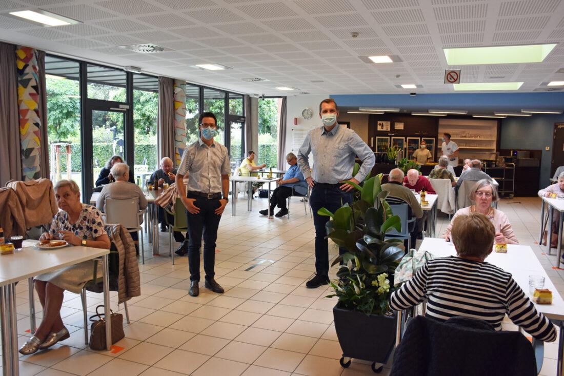 Sociaal restaurant weer geopend