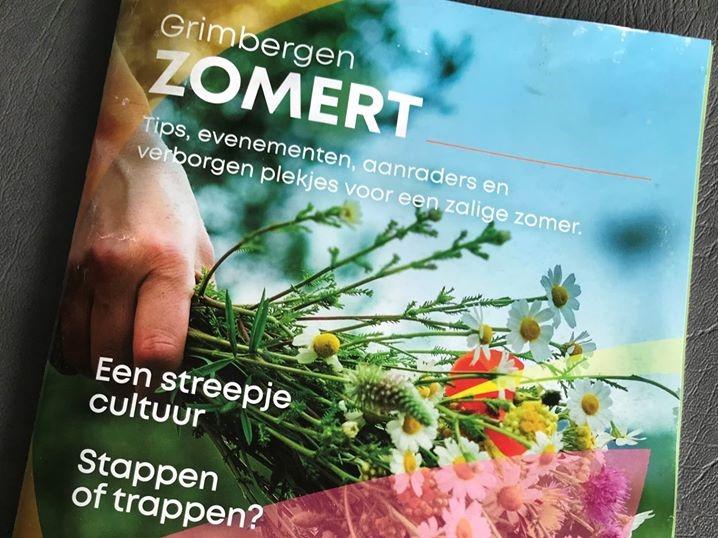 Nieuwe magazine 'Grimbergen zomert' wordt huis-aan-huis bedeeld