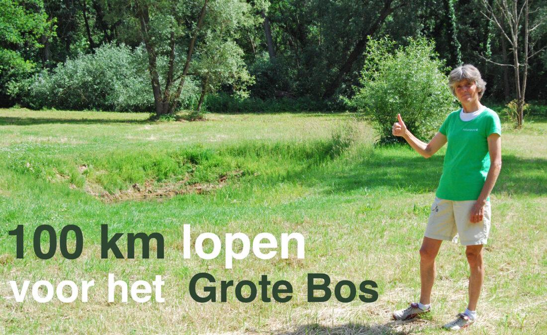 100 km lopen voor mooi stukje natuur