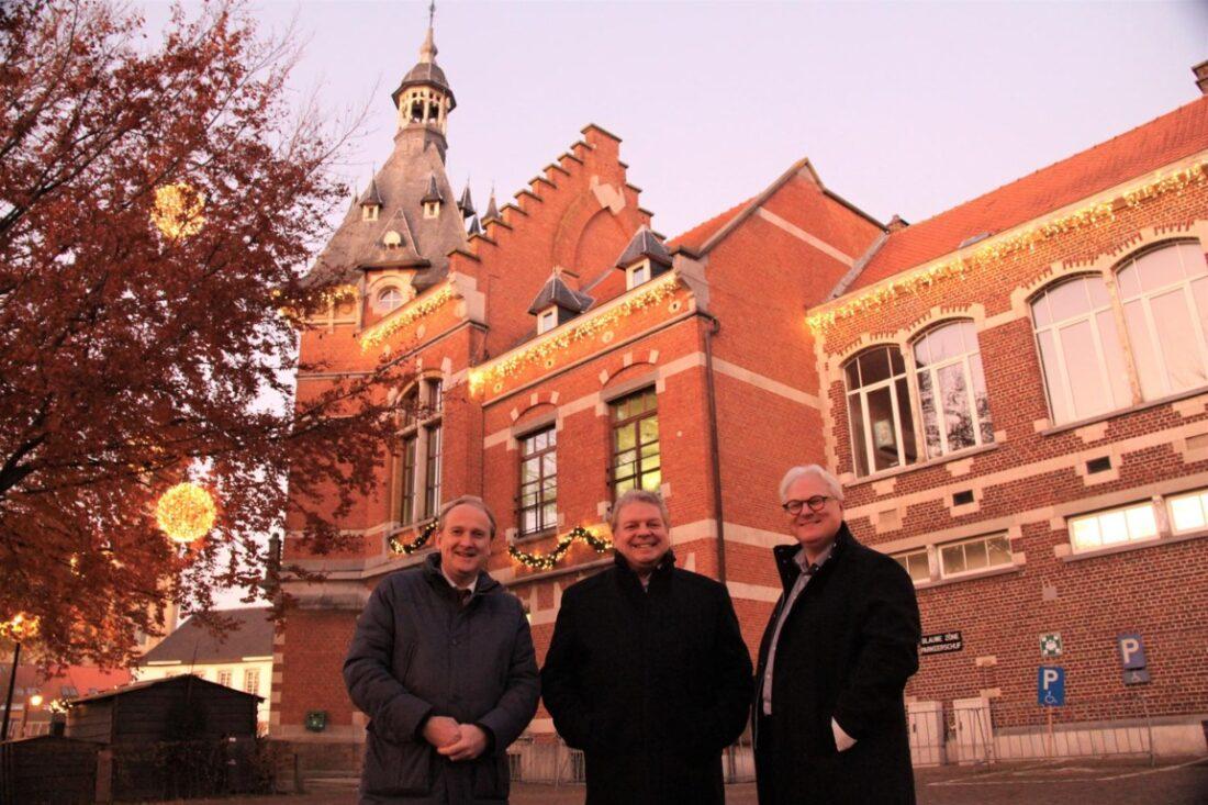 Grimbergen bouwt nieuwe bibliotheek naast gemeentehuis