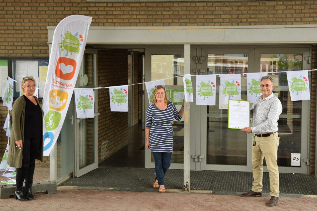 Grimbergen ondertekent charter Gezonde Gemeente