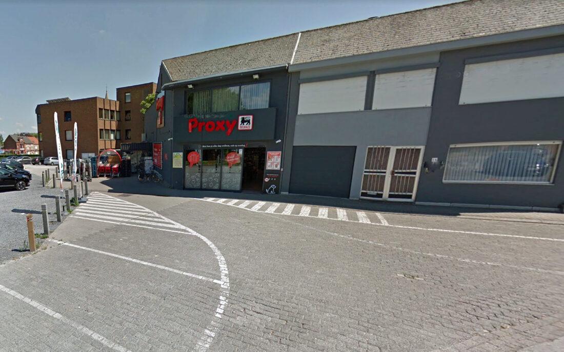 Gewapende overval op Delhaize Denderleeuw