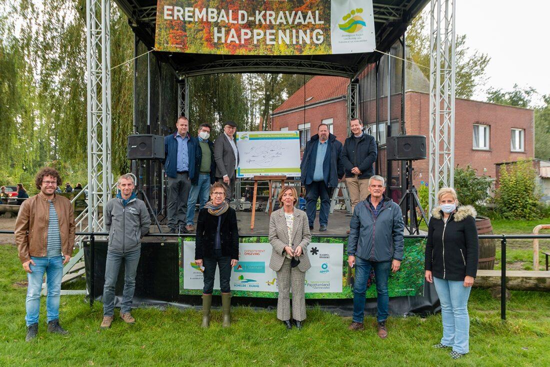 Erembald-Kravaal Happening brengt meer dan 700 wandelaars op de been