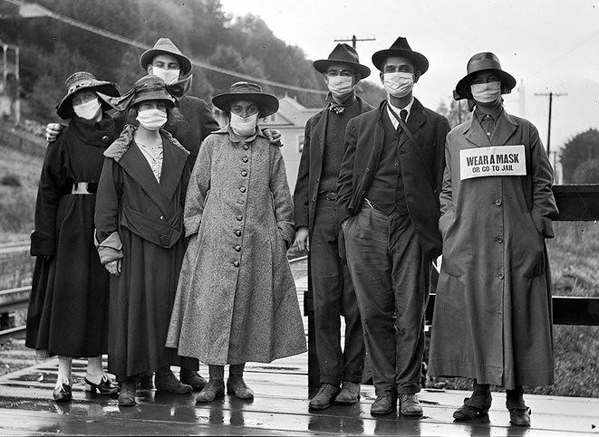 Spaanse griep (1918-1920) een ongelooflijke gelijkenis met de huidige pandemie