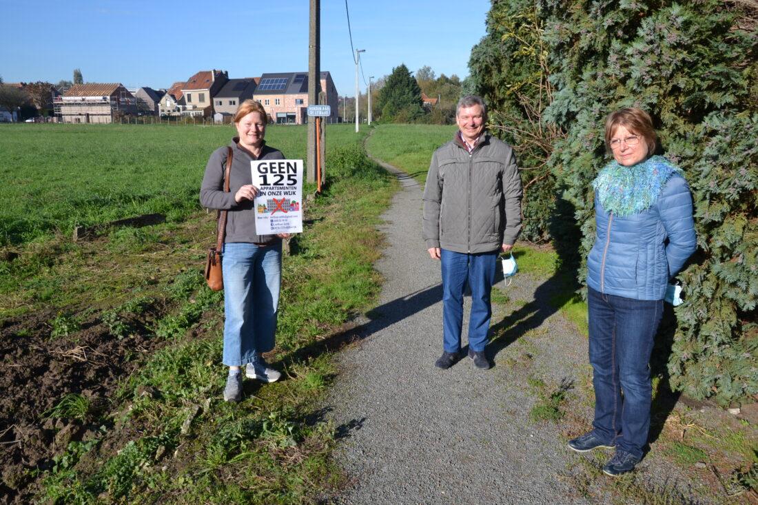 Buurt haalt eerste slag thuis tegen bouw van appartementen in residentiële wijk in Zellik