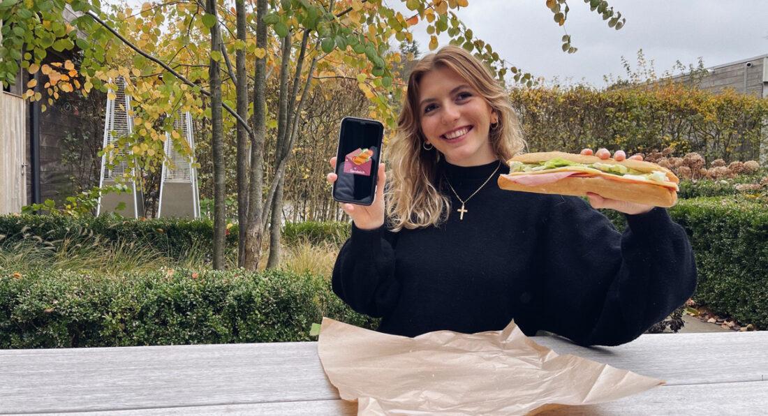 Bestel je sandwich via sendwich