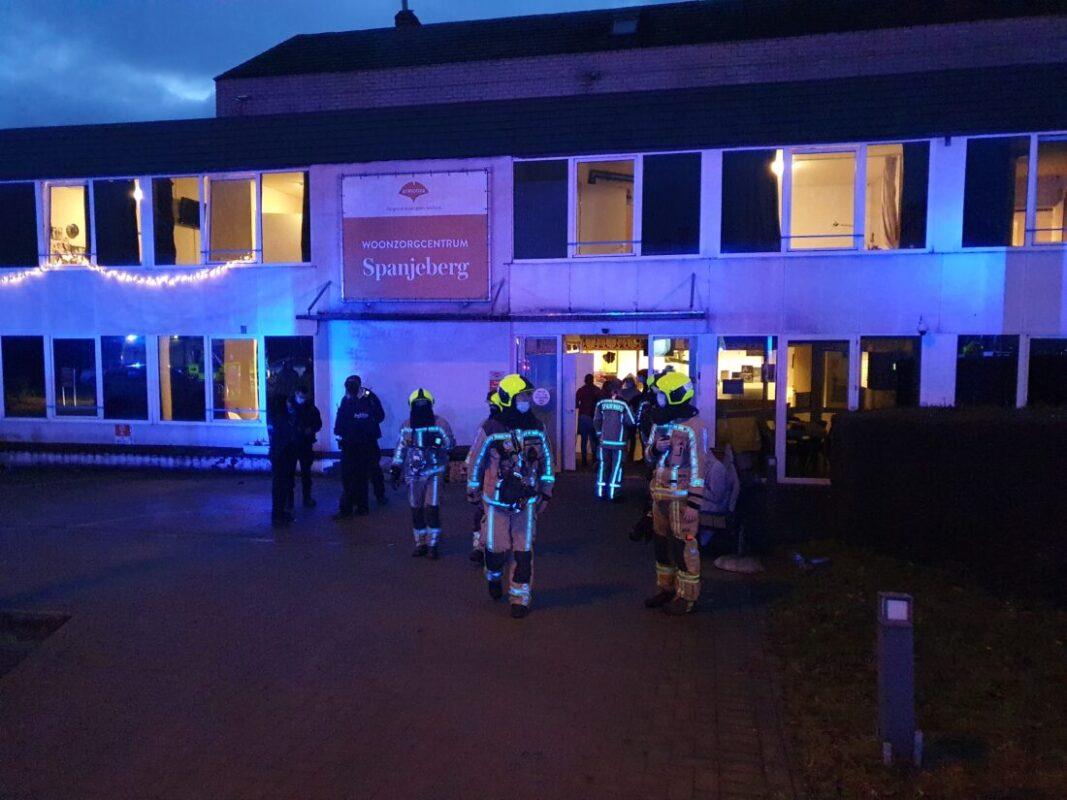 Update: Dertig bewoners tijdelijk geëvacueerd na rookontwikkeling in woonzorgcentrum Spanjeberg