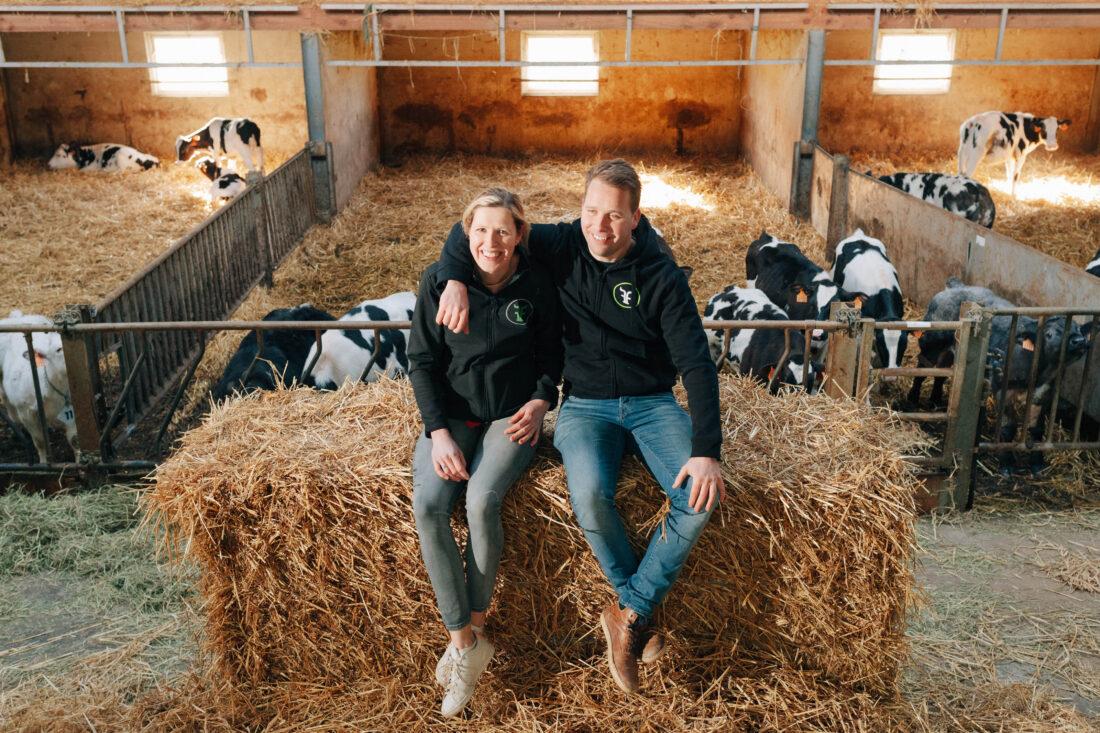Bart en Marijke (Koeweidehof) verkopen groene stroom