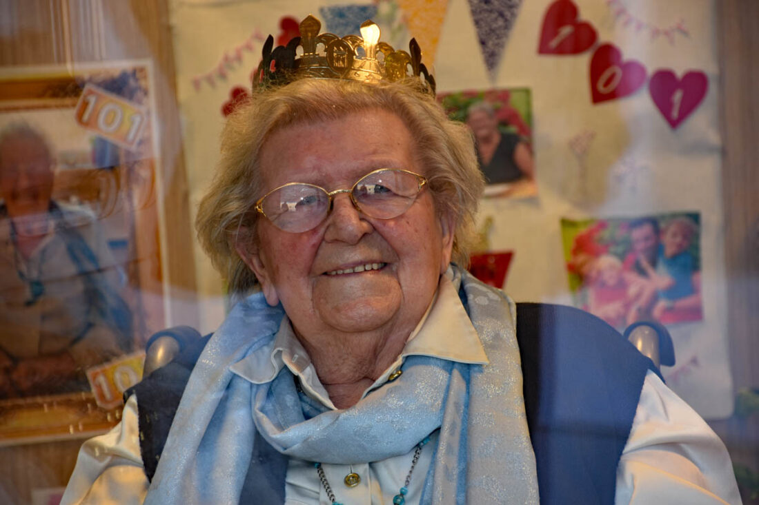Yvonne (vandaag 101) overleefde corona