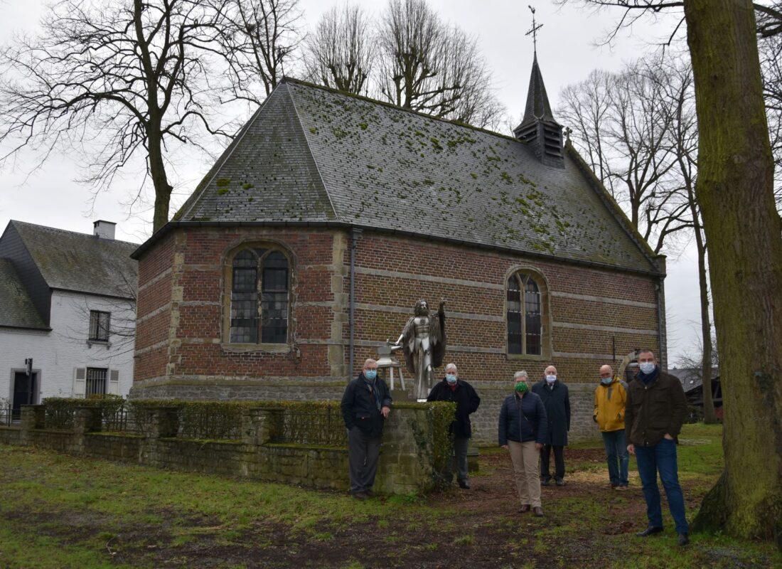 17de eeuwse Sint-Elooikapel wordt gerestaureerd