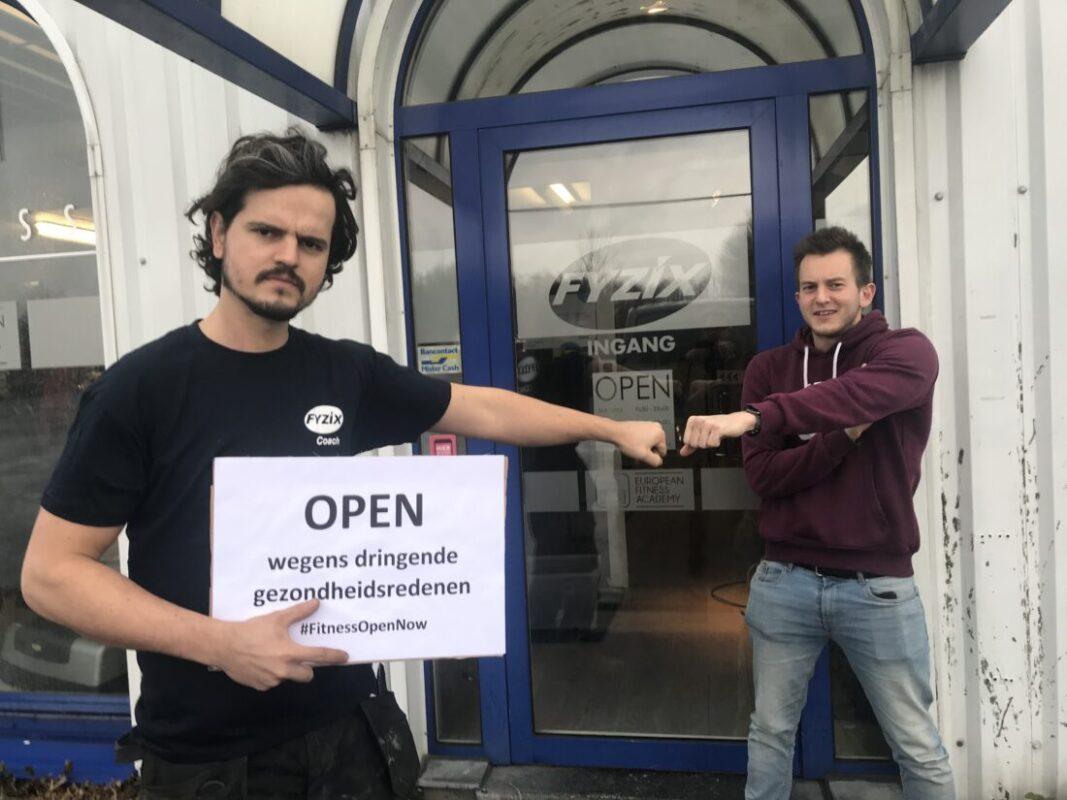 Nog steeds gesloten fitnesscentra voeren actie 'wegens dringende gezondheids-redenen'
