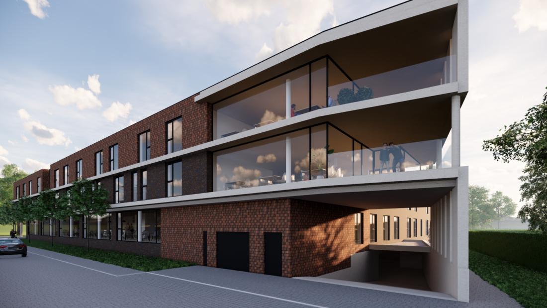 Nieuwbouw voor woonzorgcentra Iris en Ascot: 82 residenten kunnen er terecht vanaf eind 2022