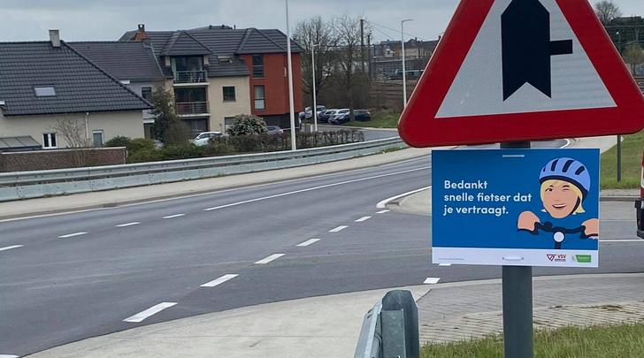 Denderleeuw promoot de fietsveiligheid